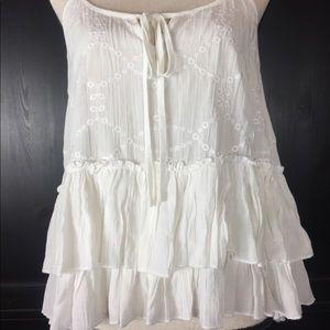 April Spirit White camisole